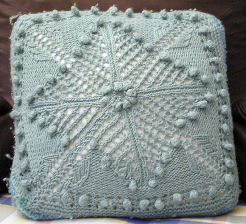 Victorian lace pillow