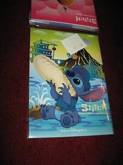 Tokyo Disney Sea Stitch folder set