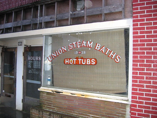 Union Steam Baths, Astoria Oregon