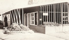 Harold De Jong DDS Office 1963 (JAVA1888) Tags: california old building modern century vintage office ad yearbook 1950s 1960s dentist mid 1963 ripon
