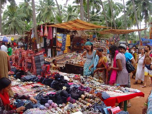 Goa - Anjuna Hippie Markt