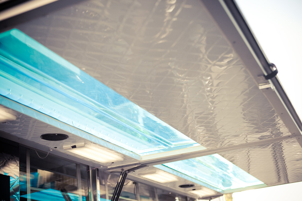 aqua food truck awning