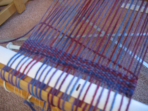 First foray into weaving | Leslie Ordal Fibre Arts