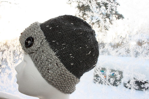 robins egg grey hat