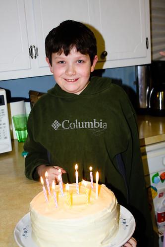 Aaron is 12!