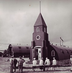 Eniwetok Atoll Navy Chapel June 1944