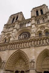 Notre Dame de Paris (Scrumptious Venus) Tags: travel paris france church architecture facade cathedral notredame notredamedeparis ourladyofparis lespritsudmagazine