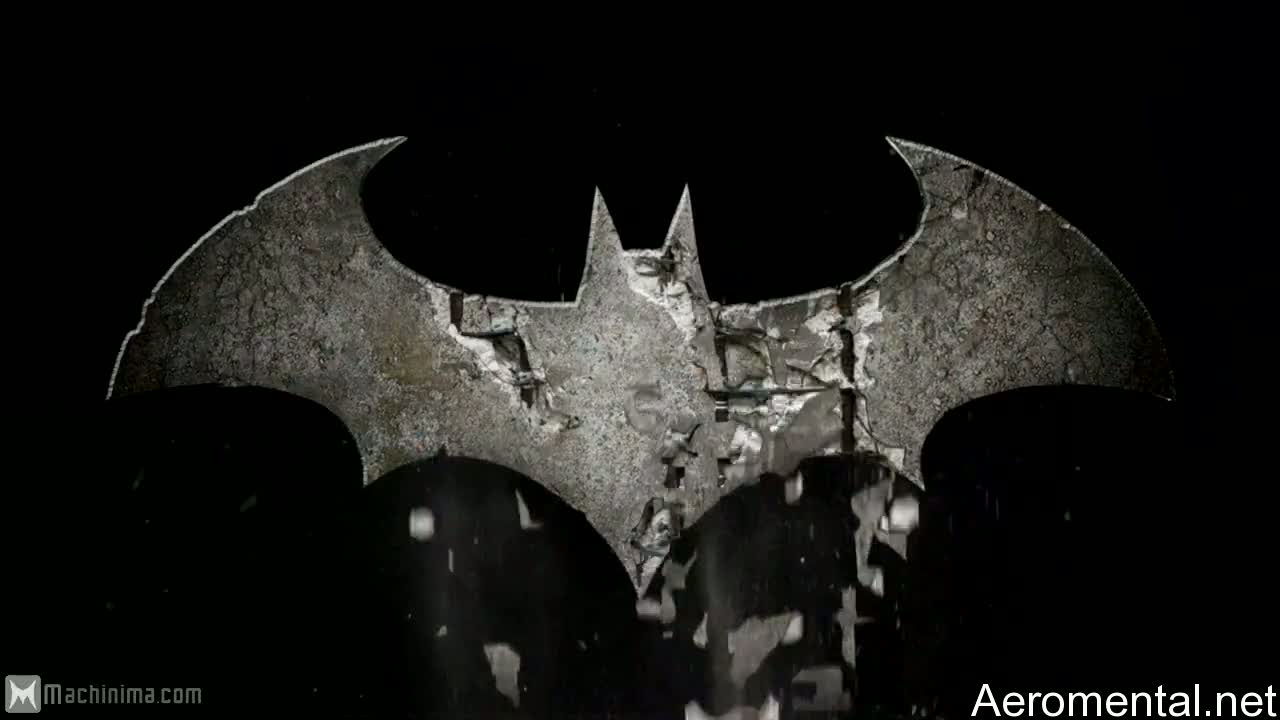 Batman Arkham Asylum 2 logo wallpaper