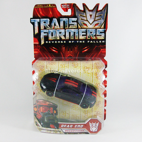 Transformers Dead End RotF Deluxe - caja