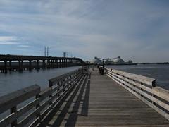 Bridge from Beaufort to Morehead City Photo