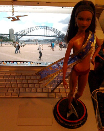 Miss Playtrek goes Down Under