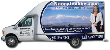 The Nancy Jenkins Moving Truck