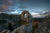View From The Top (_ justintheframe_) Tags: cornwall ruin chapel gettyimages tonemapped rocherock skyascanvas justintheframe