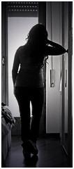 Oggi sono io. (Rox ) Tags: light portrait white black me alex girl silhouette self canon eos reflex feminine io momento thinking brunette rox anima today bianco ritratto pensieri nero sono luce controluce ragazza oggi meditative britti sagoma riflettere 1000d