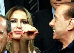 Silvio Berlusconi e Patrizia D'Addario