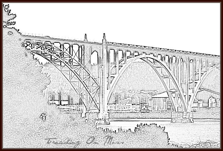 Pencil Sketch-Bridge
