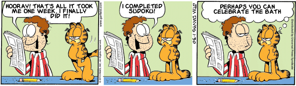 Garfield: Lost in Translation, January 30, 2010