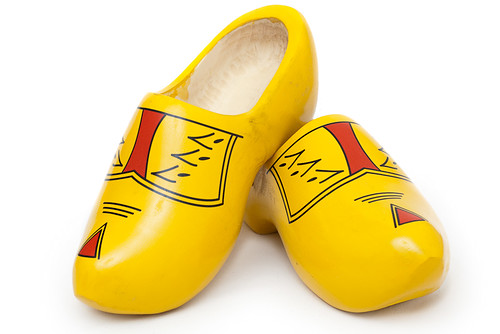 Klompen - pair of wooden shoes