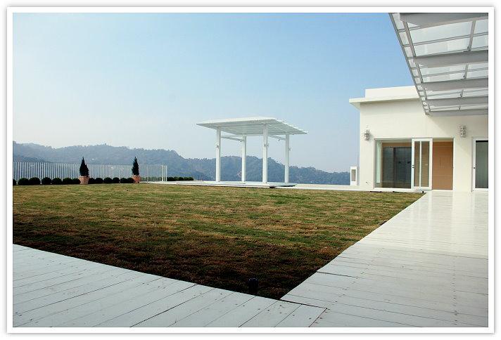 天空的villa