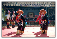 Pangsau Pass Winter Festival 2010 : Tibetan Dancers (Arif Siddiqui) Tags: travel costumes girls portrait people woman india green heritage history tourism nature colors beauty festival portraits river landscape glamour colorful asia paradise folk traditional wwii scenic festivals culture lifestyle places tribal east hills tribes serene local raod tradition ethnic assam northeast cultures cultural arif arunachal pepa pristine ledo stillwell dances changlang tribals siddiqui arunachalpradesh sceninc monpa northeastindia bihu jairampur attires itanagar arunachalpradeshindia pangsaupass nampong arunachali pangsaupasswinterfestival ppwf ppwf2010