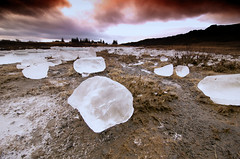 Ice-land (Caro & Andres +2) Tags: red sky ice iceland nikon d300 10mm