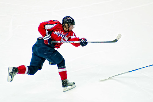 Backstrom Takes a Shot