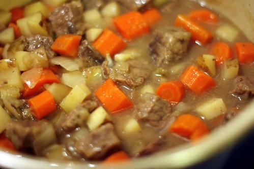 Crockpot Cider Beef Stew