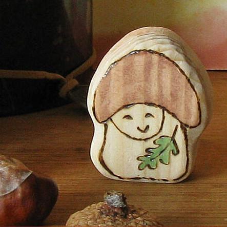 Mushroom Baby Gnome