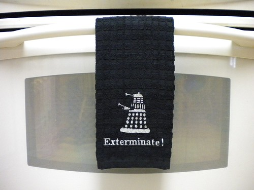 Black Dalek Towel