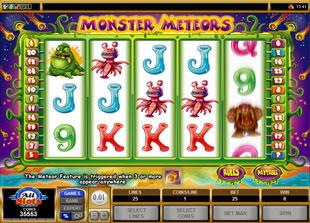 Monster Meteors slot game online review