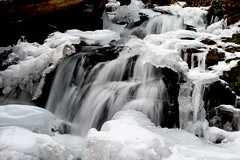 Icy White Blazes