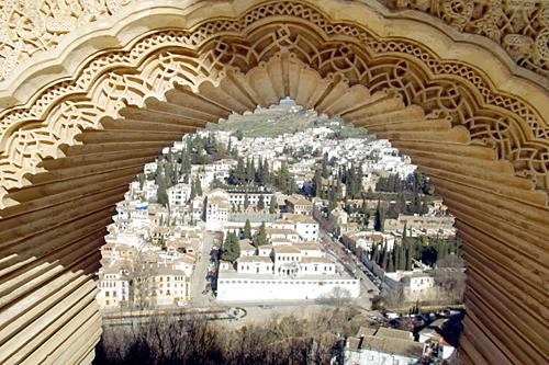 Granada-arabic-view