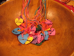 Conversation Heart Necklaces