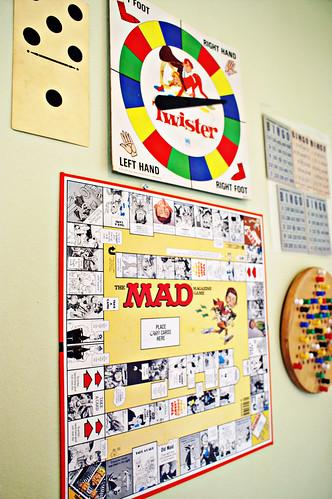vintage game wall por joyefulone.