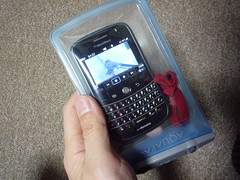BlackBerry Bold with AQUAPAC