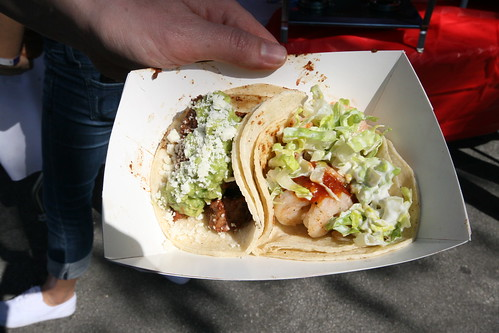 Komodo Food Truck: Signature Taco & Blazing Shrimp Taco