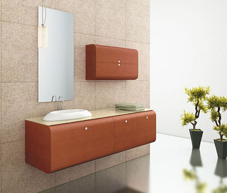 Modern Minimalist design and interior bathroom