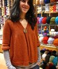 Irini is modelling her new jacket (sifis) Tags: wool canon knitting knit athens yarn greece jacket cardigan s90 handknitting alpaka αθηνα sakalak βελονεσ μαθηματα πλεκω πλεξιμο σακαλακ μαλλια μαθαινω