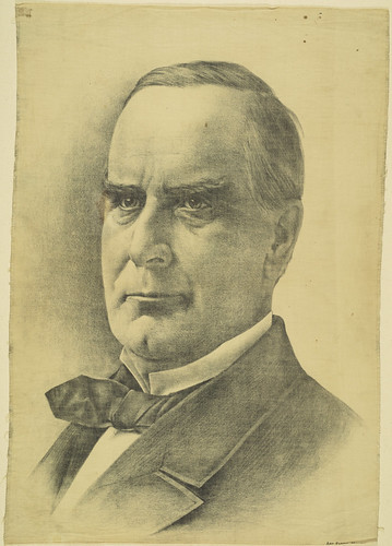 William McKinley Portrait Towel