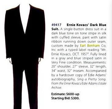 Earl Benham dk blue suit (Ernie Kovacs Oct 1957)