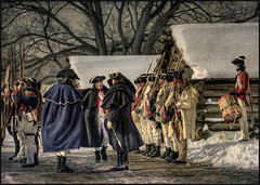 Valley Forge - Encampment Assembly (mikonT) Tags: nikon pennsylvania colonial americanrevolution encampment valleyforge d300 nikon80200mmf28 mikont colonialsoldier 17771778 2ndparegiment