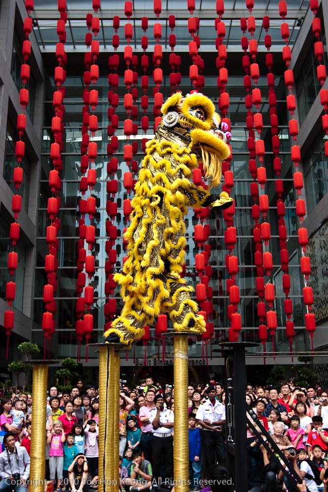 Lion Dance @ Pavilion, KL, Malaysia