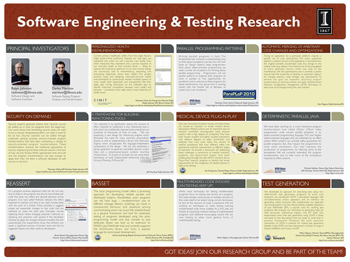 Software Engineering & Testing Research Poster