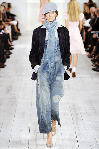 Patchwork denim Ralph Lauren SS2010 1