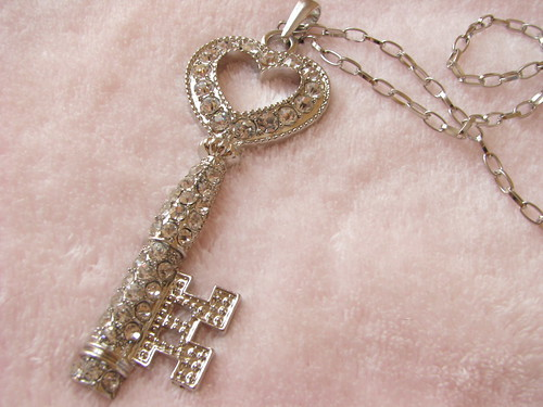 large key necklace