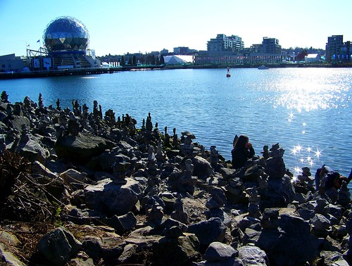 Vancouver Olympics false creek seawall tourism city