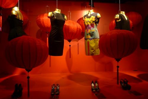 Vitrines Nouvel An Chinois aux Galeries Lafayette - Paris, février 2010