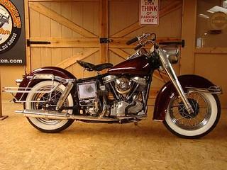 Harley-davidson Panhead Electra Glide 1965