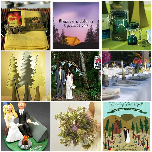 Camping Wedding For Nature Lovers And The Eco Conscious Things