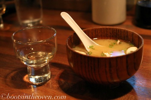 Miso Soup and Sake
